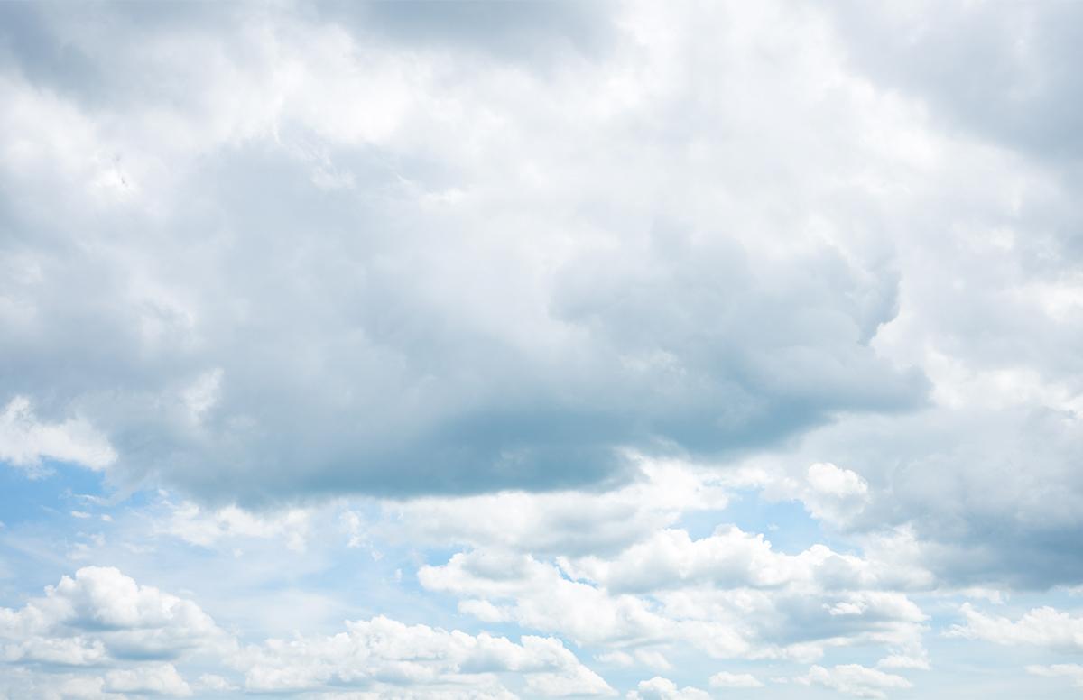 THE ORIGIN HG MS-06C ザクII C型/C-5型 レタッチ ガンプラ 雲の写真
