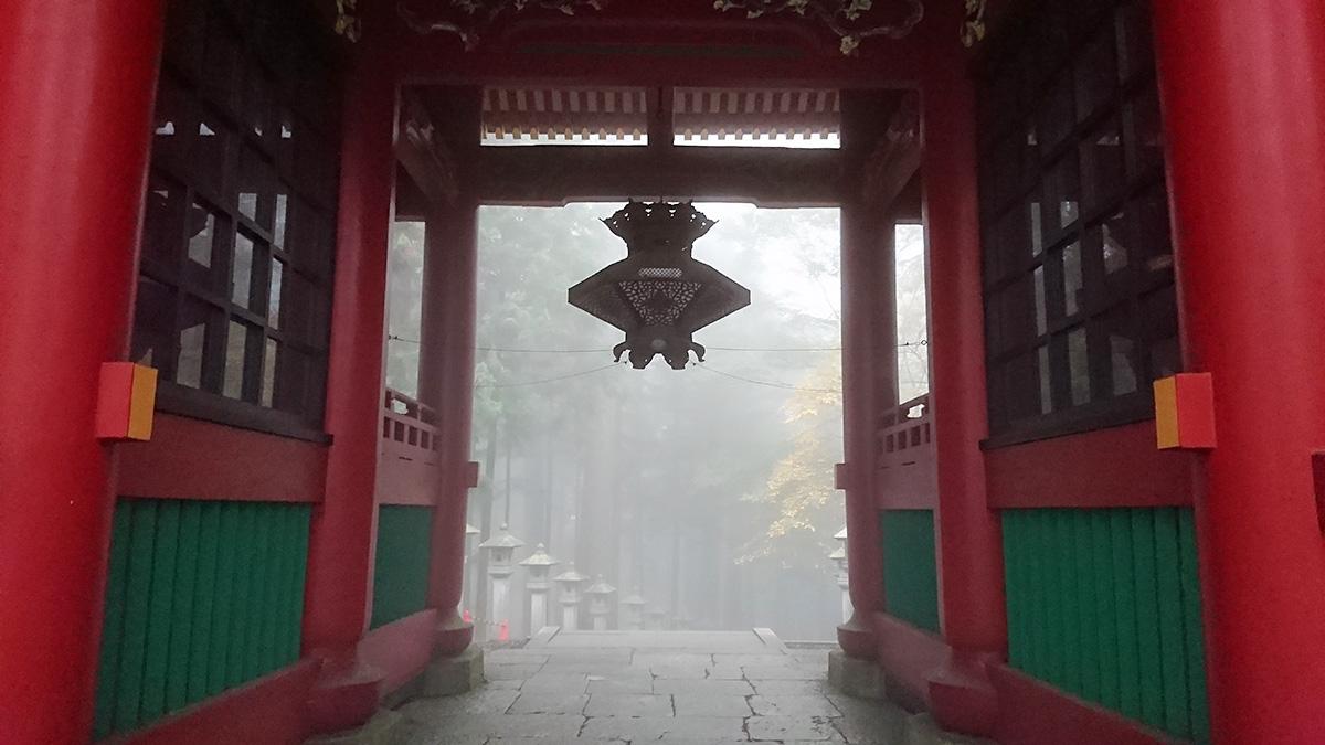 随身門 三峯神社