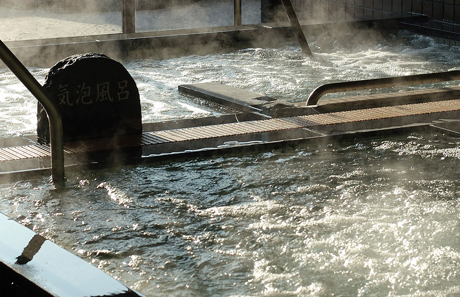 「湯けむり横丁おおみや」温泉
