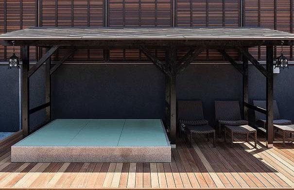 雅楽の湯 畳の湯休み処